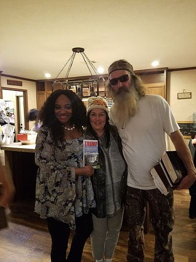 Ce Ce Ferrari with Miss Kay and Phil Robertson from A&E's Duck Dynasty.